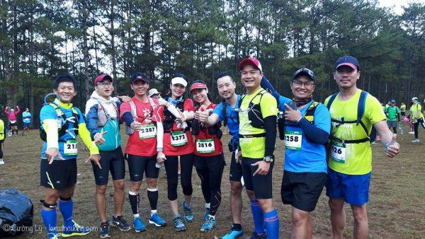 Các nhóm 42km và 70km đã chạy, còn lại team yếu 21km xuất phát lúc 8h30 sáng!