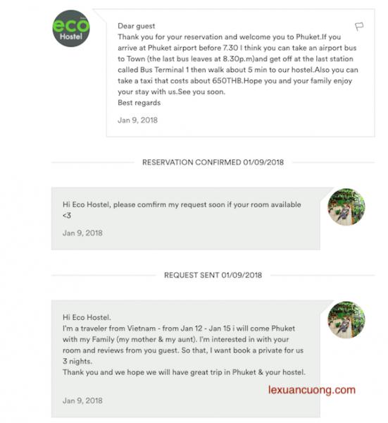 Huong dan Dat phong Airbnb 2 551x600 - Hướng dẫn đăng ký Airbnb nhận 53$ và đặt phòng homestay du lịch ngon - bổ - rẻ