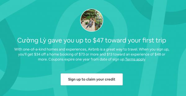 Nhận 47 1 triệu khi đăng ký Airbnb 600x312 1 - Tổng Hợp Mã Giảm Giá Du Lịch, Mua Sắm Từ Blog Lexuancuong.Com