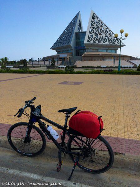 Bảo tàng ở quảng trường thành phố Phan Rang.