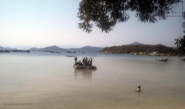 Biển Sơn Đừng - bãi biển đặc biệt ở Vạnh Ninh.