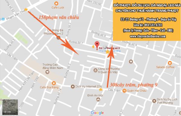 Thông tin về shop Hành Trang Phượt.