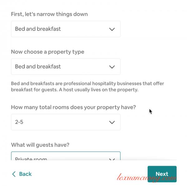 Đăng ký tài khoản host airbnb 5 600x596 - Hướng dẫn đăng ký tài khoản host Airbnb đón khách du lịch