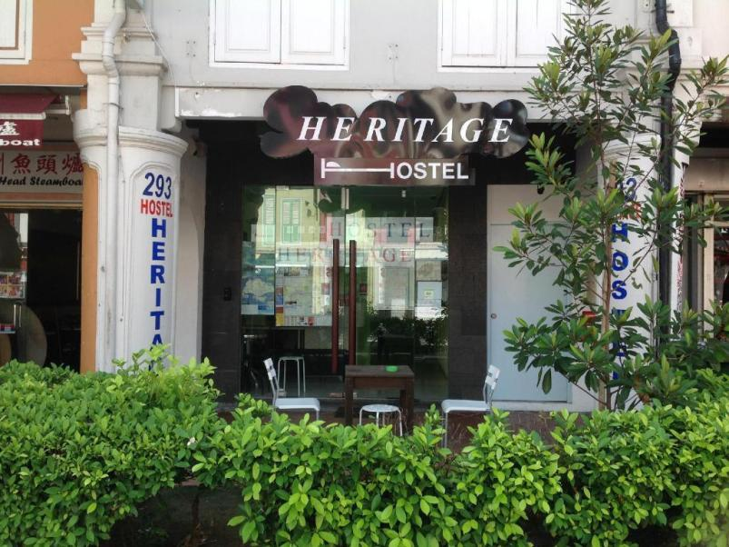 Heritage Hostel - Review Heritage Hostel, China town khi du lịch Singapore