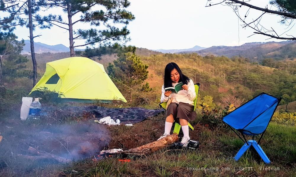 Cắm trại ở Đà Lạt, trải nghiệm này khác biệt với những hình thức du lịch thông thường.