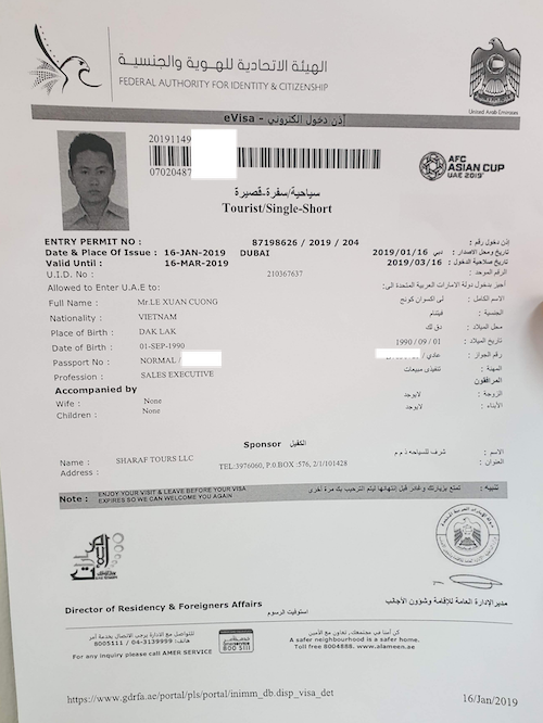 e Visa nhap canh UAE  - Ký sự 30h: Đến UAE cổ vũ tuyển Việt Nam, 18 giờ bay và 90 phút cháy hết mình!