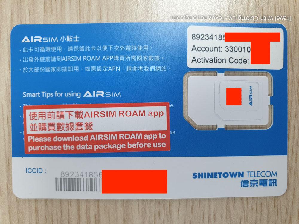 Nhập các thông tin của Airsim vào app Airsim Roam