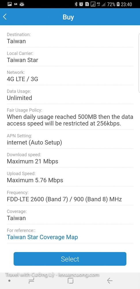 Thông tin gói cước, chất lượng internet của gói 4G trên Airsim