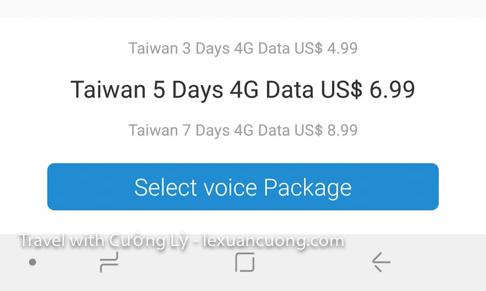 Chọn gói 4G xài trong 5 ngày!