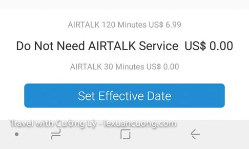 Nhớ chọn thêm gói voice talk miễn phí 30 phút nhé!
