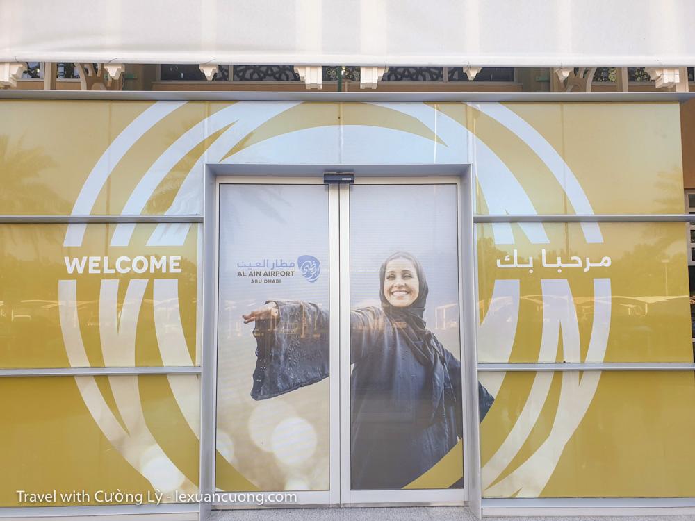 Welcome tu Al Ain, UAE