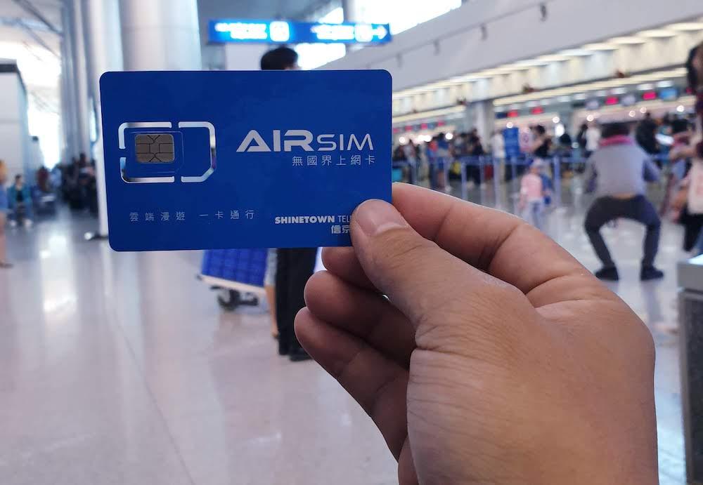 Airsim - sim 4G khi đi du lịch