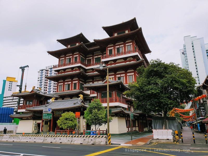 Chua Budha Tooth chinatown singapore 4
