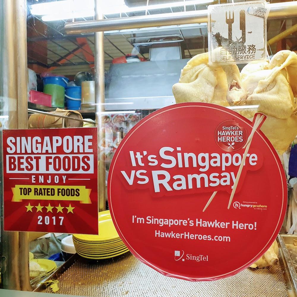 Ở đây được Singapore Best foods review là 5 sao nhé