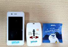 1 Bộ thiết bị cục phát wifi Go Hub gồm 1 cục phát wifi, 1 adapter, 1 giấy hướng dẫn sử dụng, 1 dây sạc.