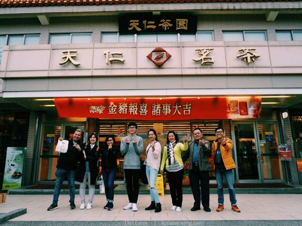 Visit the museum-Ten Ren factory at Maoli.