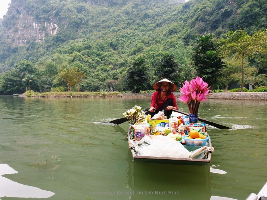 The freight boats sold to tourists help increase income.