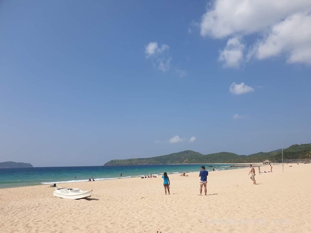 Bãi biển Nanpac đẹp ở El Nido