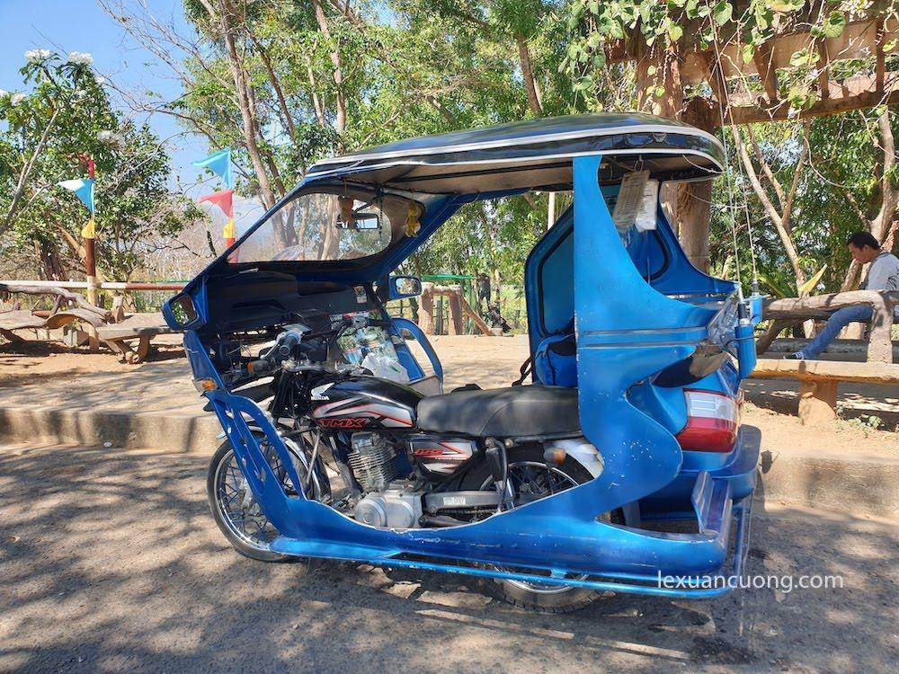 Tricycle, phương tiện di chuyển chủ yếu ở các đảo, Philippines