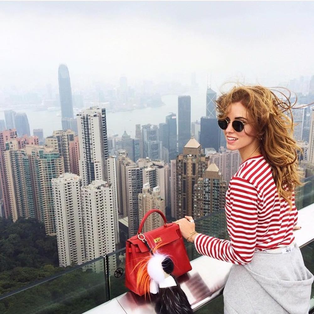 Ngắm toàn cảnh Hong Kong từ Sky Terrace 428.