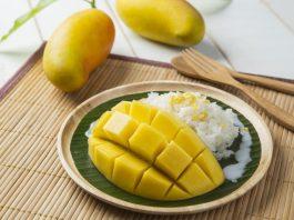 Xôi xoài là món ăn đặc trưng của ẩm thực Thái Lan bạn nhất định phải thử khi du lịch tại đất nước này