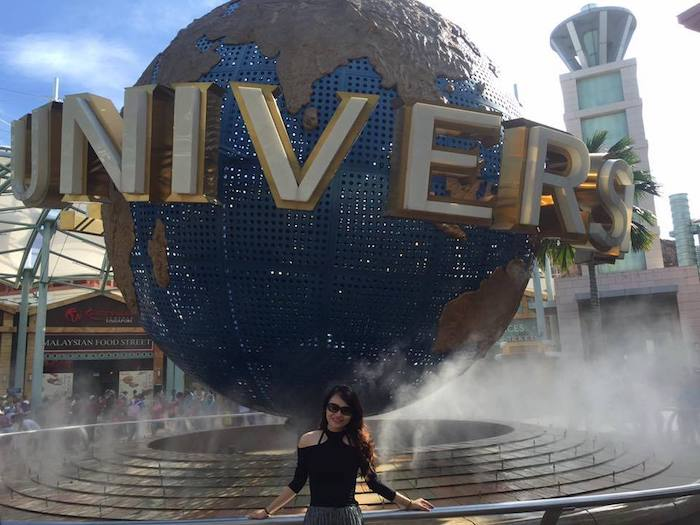 Ai đến Universal Studio Singapore cũng phải chụp 1 tấm ở đây.