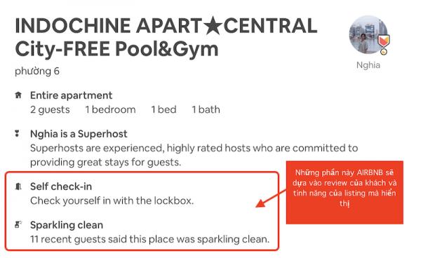 huong dan toi uu listing Airbnb 11 600x368 - Khách du lịch đặt phòng Airbnb quan tâm điều gì? Host cần biết để tối ưu hiệu quả
