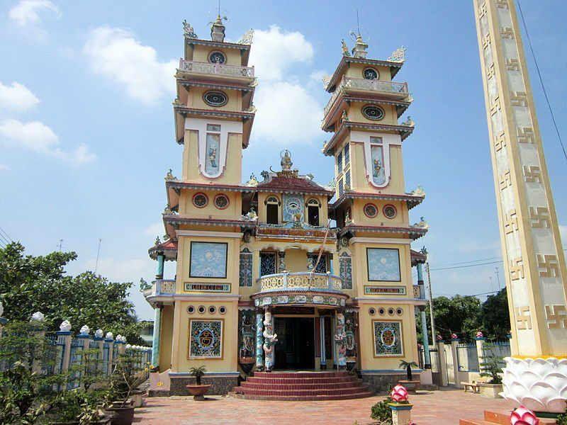 chua cao dai - Gợi ý Du lịch gần Sài Gòn 2 ngày cuối tuần: chơi gì, ở đâu?
