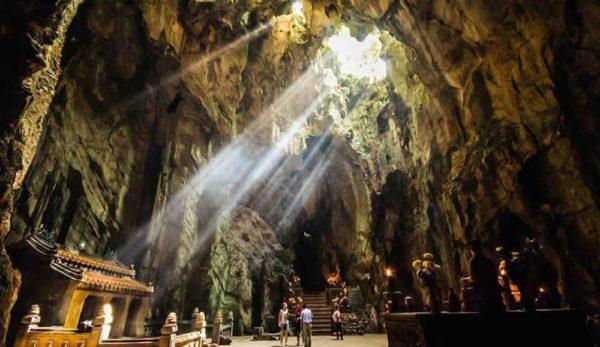 ngu hanh son 2 600x347 - 10 địa điểm du lịch đà nẵng hấp dẫn nhất