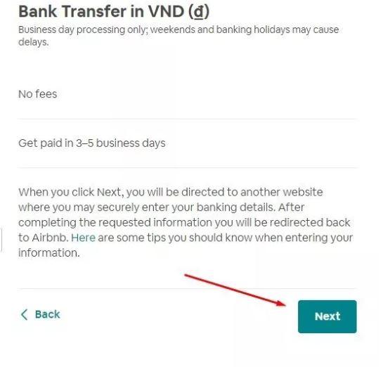 nhan tien tren airbnb5 - Hướng dẫn nhận tiền trên Airbnb - kinh nghiệm cho thuê phòng trên Airbnb