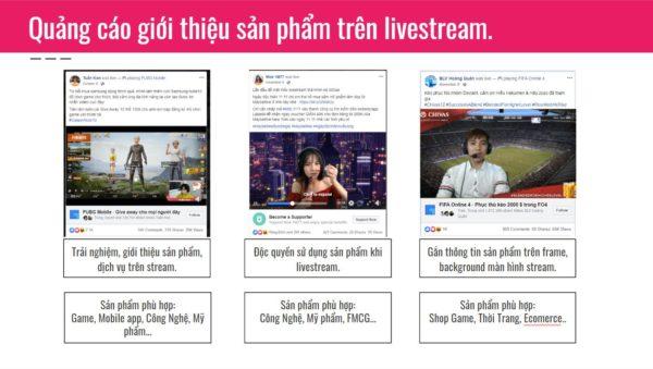 Quang Cao tren Livestream 600x339 - Streamer là ai, nhãn hàng có thể hợp tác quảng cáo với streamer như thế nào?
